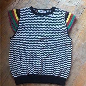 Zara striped knit shirt
